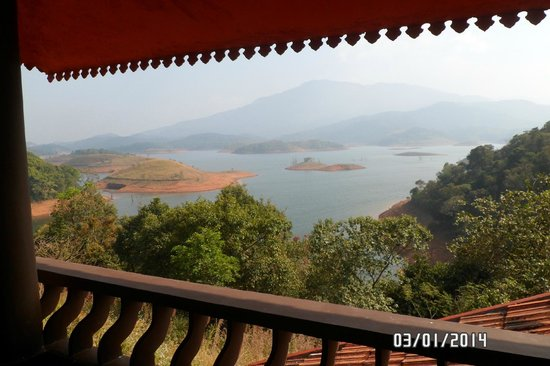 Banasura Island Retreat : View from the cottage