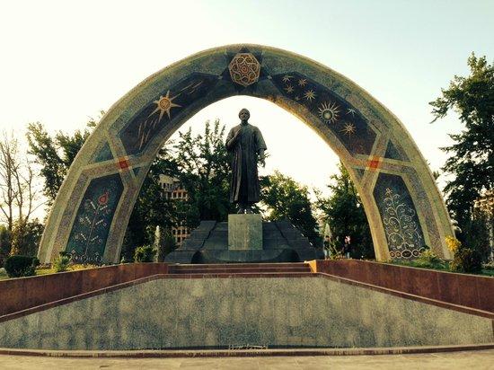 Rudaki Park: Rudaki, the Poet