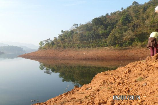 Banasura Island Retreat: Banasura Lake
