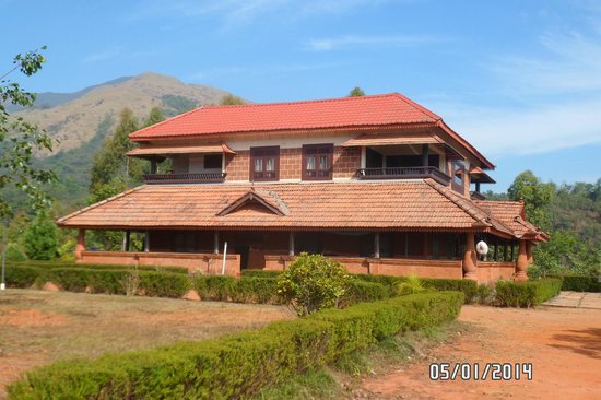 Banasura Island Retreat: Main building