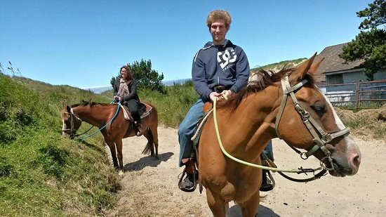 Green Acres Beach & Trail Rides: The pair of us
