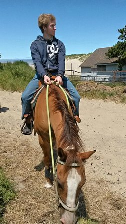 Green Acres Beach & Trail Rides: fooood