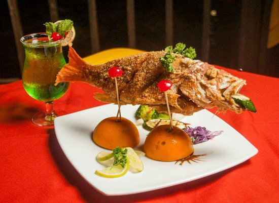 Grill King Family Steakhouse and Seafood: Whole Red Snapper  (The Grill King Restaurant)
