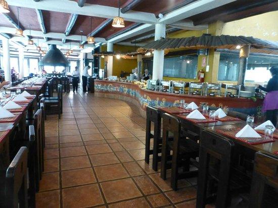 Toto's House: Inside the restaurant