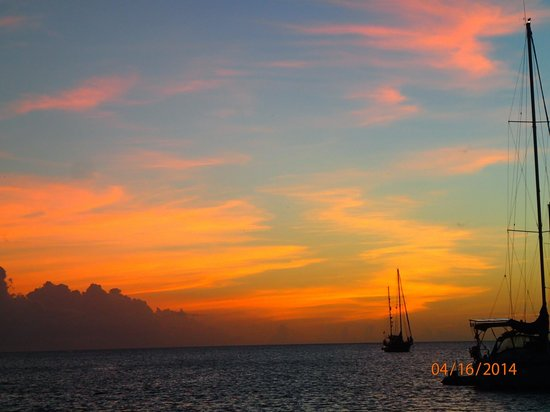 Castries, Saint Lucia: Sunrise