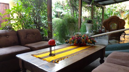 Hotel Casa Antigua : sitting ares for privacy or to meet people