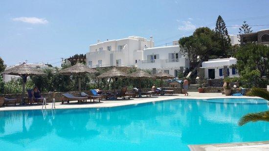 Hotel Kamari: Piscine