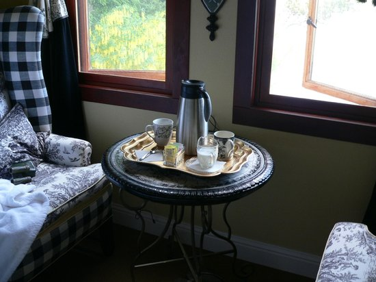 The Villa at Little Cape Horn: Coffee in the suite