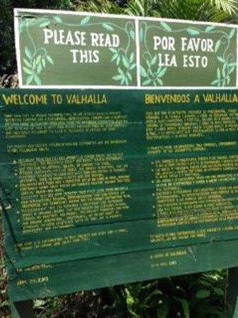 Valhalla Experimental Station: Description