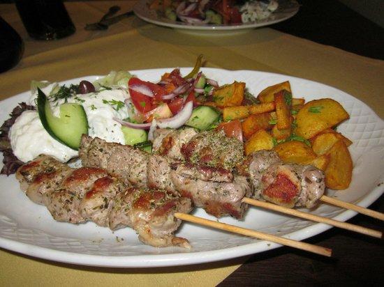 Restaurant Mythos Fisch und Lamm : kabob