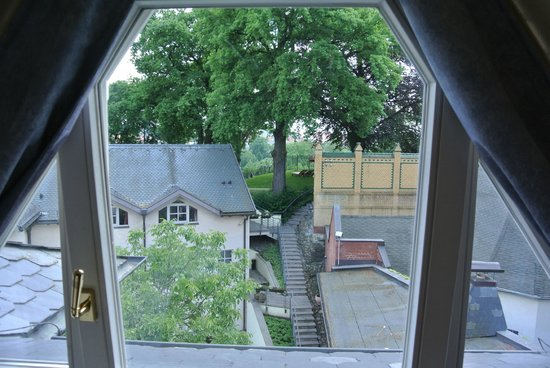 Hotel Villa Monte Vino: view from our window