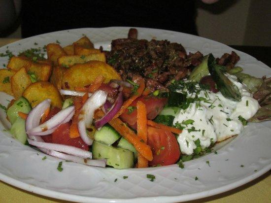 Restaurant Mythos Fisch und Lamm: gyro
