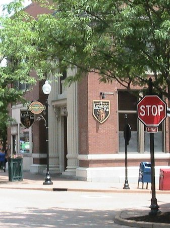 St. Charles Historic District: Old Bank Building now a pub & restaurant
