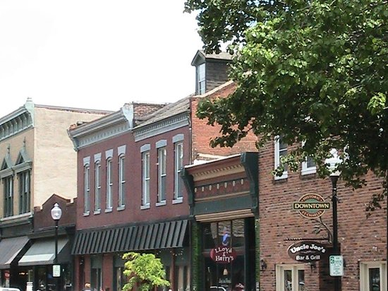 St. Charles Historic District: Main Street buildings