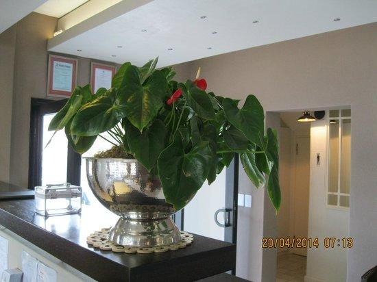 Swakopmund Sands Hotel : The reception desk