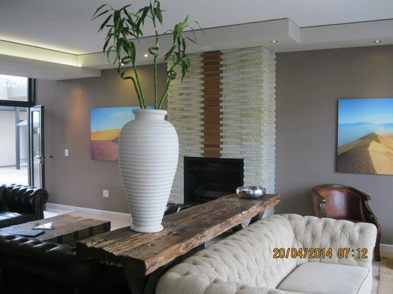 Swakopmund Sands Hotel : The reception area