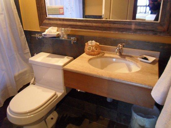 Hotel and Cabanas Monte Verde: Detalhe do banheiro 1