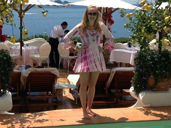Le Sirenuse Hotel: Poolside