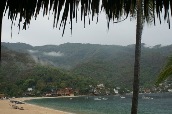 Hotel Lagunita: view from our porch