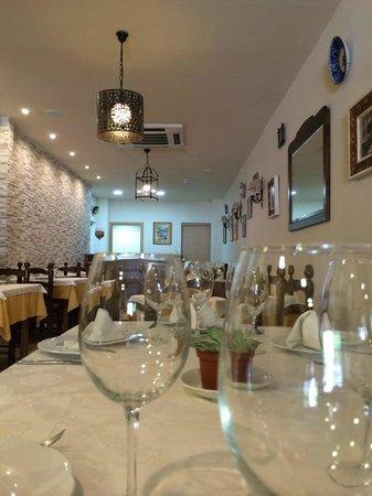 Restaurante Albahaca: Comedor