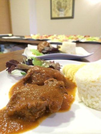 Restaurante Albahaca: Carrillada en salsa