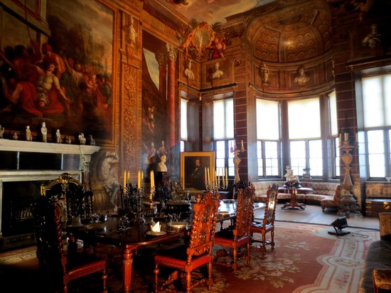 Burghley House: Dining Room