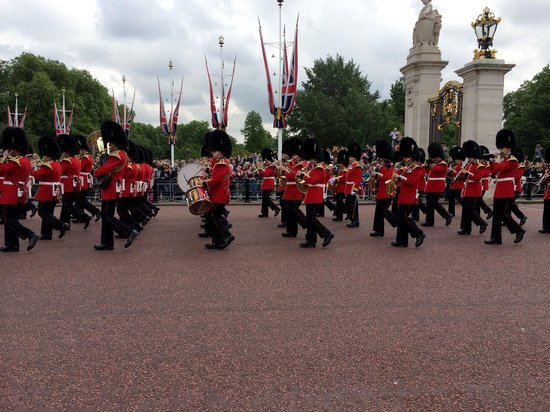 Changing of the Guard: The band