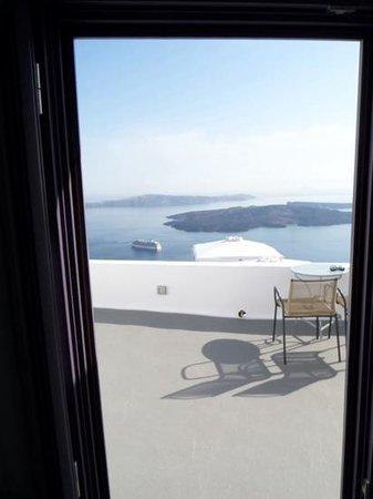 Chromata Hotel: vista desde la terraza privada