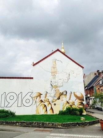 Musee Somme 1916: street art