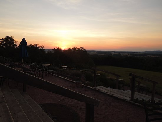 Chaumette Vineyards & Winery: The Sunset