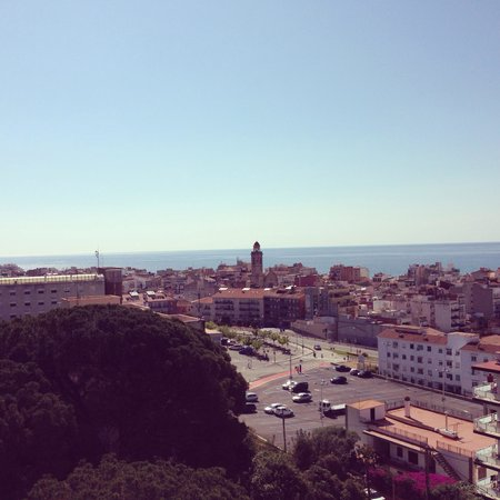 H·TOP Calella Palace & Spa: Aussicht von der Dachterrasse
