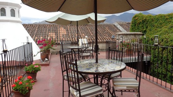 Hotel Meson del Valle: a wonderful terrace