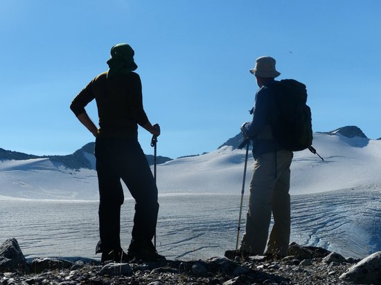 Nuk Tessli Wilderness Experience: The ice plateau
