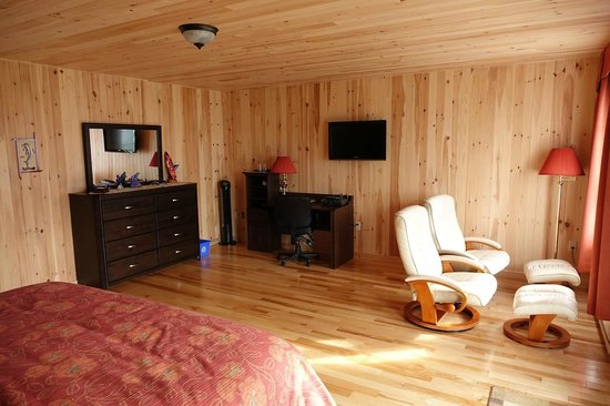 Auberge Foin de Mer : Our room