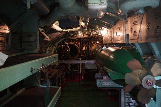 Intrepid Sea, Air & Space Museum : Torpedo bay