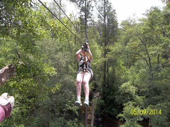 Adventures Unlimited Outdoor Center: My friend, Theresa