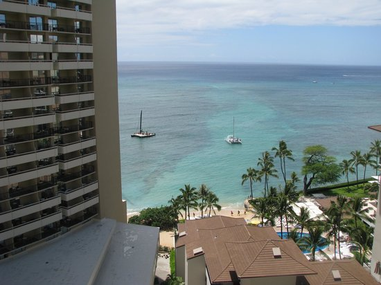 Waikiki Parc Hotel: View from our room