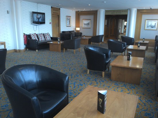 The Royal Angus Hotel : Lounge area where delegates enjoyed coffee and biscuits