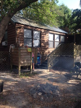 Indian Pass Campground: Cabin D6