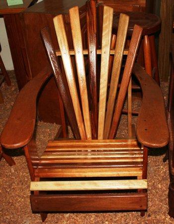 "Belize Wood Works Ltd.: Deck Chair ""mixed Lumber"""