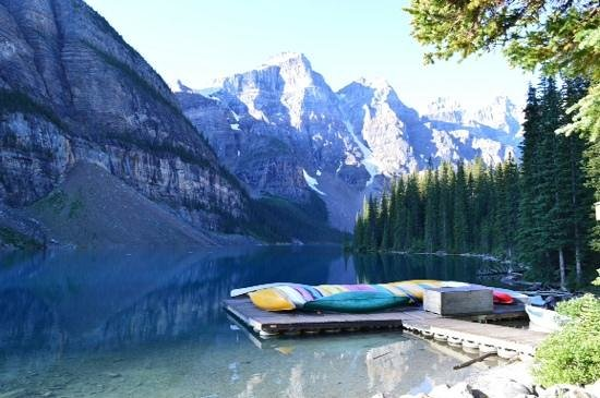 Lake Louise Inn: Moraine Lake