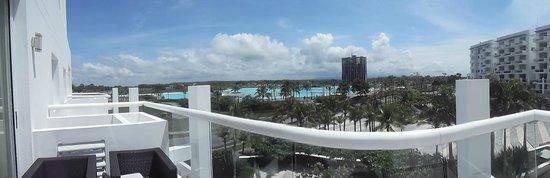 Hotel Playa Blanca Beach Resort: vista desde la town suites
