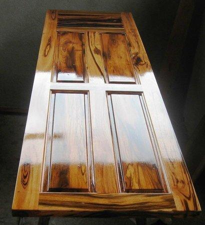 """Belize Wood Works Ltd.: Interior Door with Louvers """"Jobillo"""""""