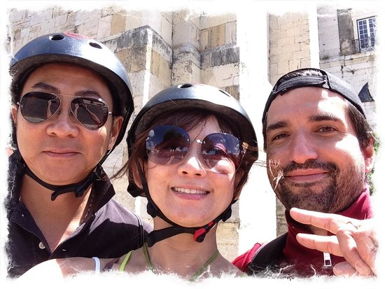Red Tour Lisbon - Buggy and Segway Tours: Selfie of three if us