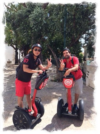 Red Tour Lisbon - Buggy and Segway Tours: Peter is an excellent guide