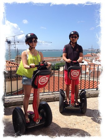 Red Tour Lisbon - Buggy and Segway Tours: Ao much fun to have photo of us like this