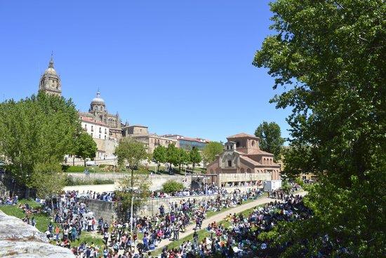 Centro histórico de Salamanca: Celebración del lunes de aguas.