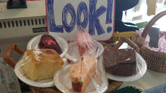 Black Bear Cafe: Assorted homemade desserts.