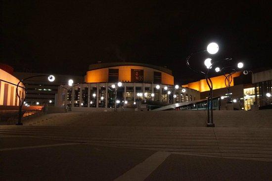 Place des Arts : Front Entrance