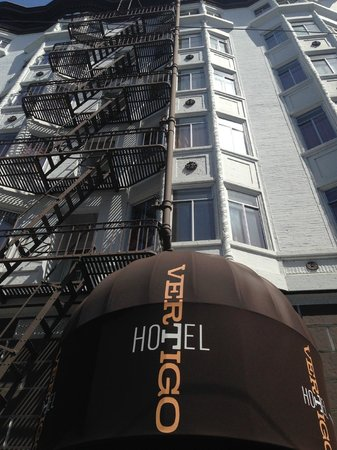 Hotel Vertigo: View from the street